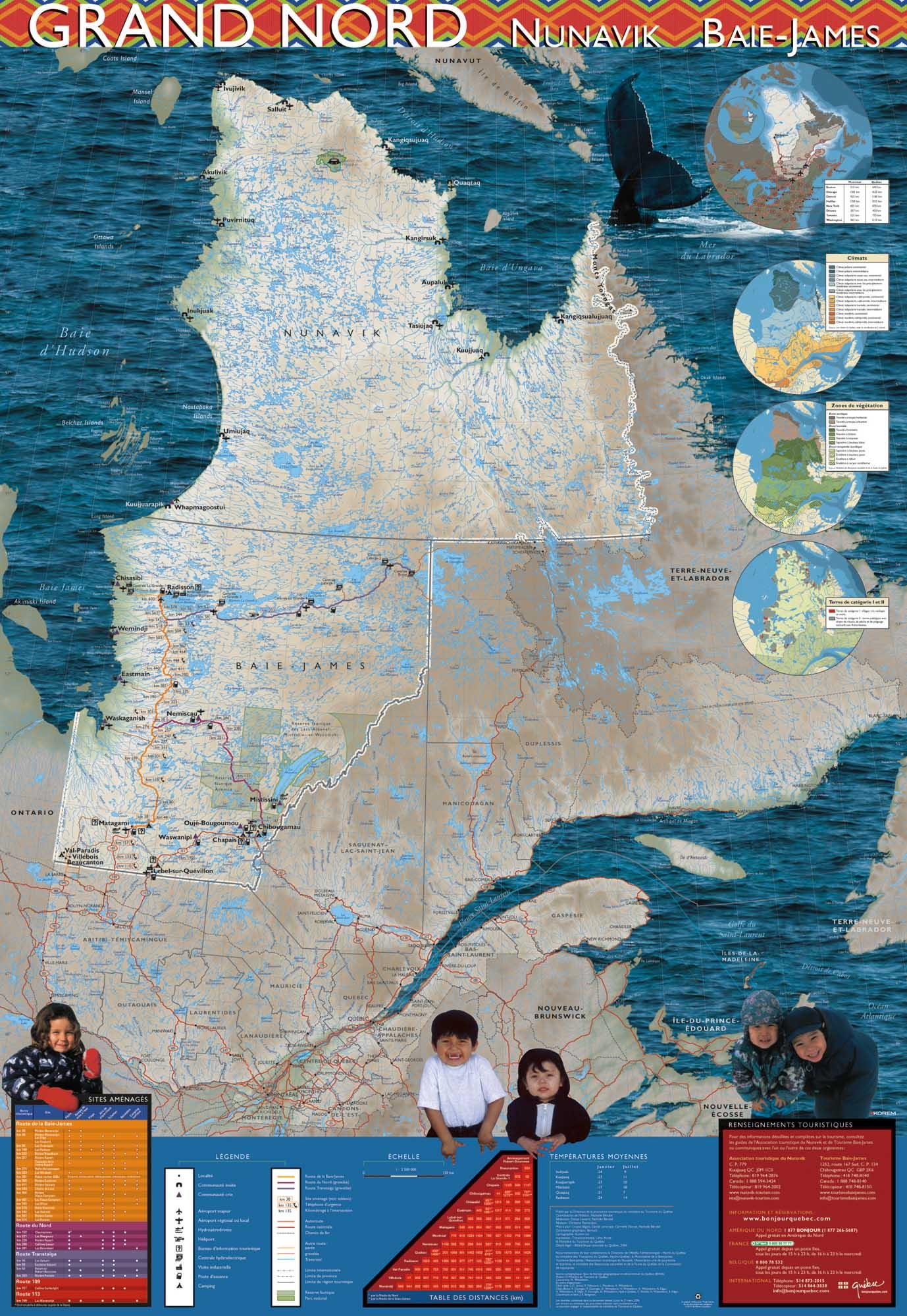 carte du G. Nord recto 2006