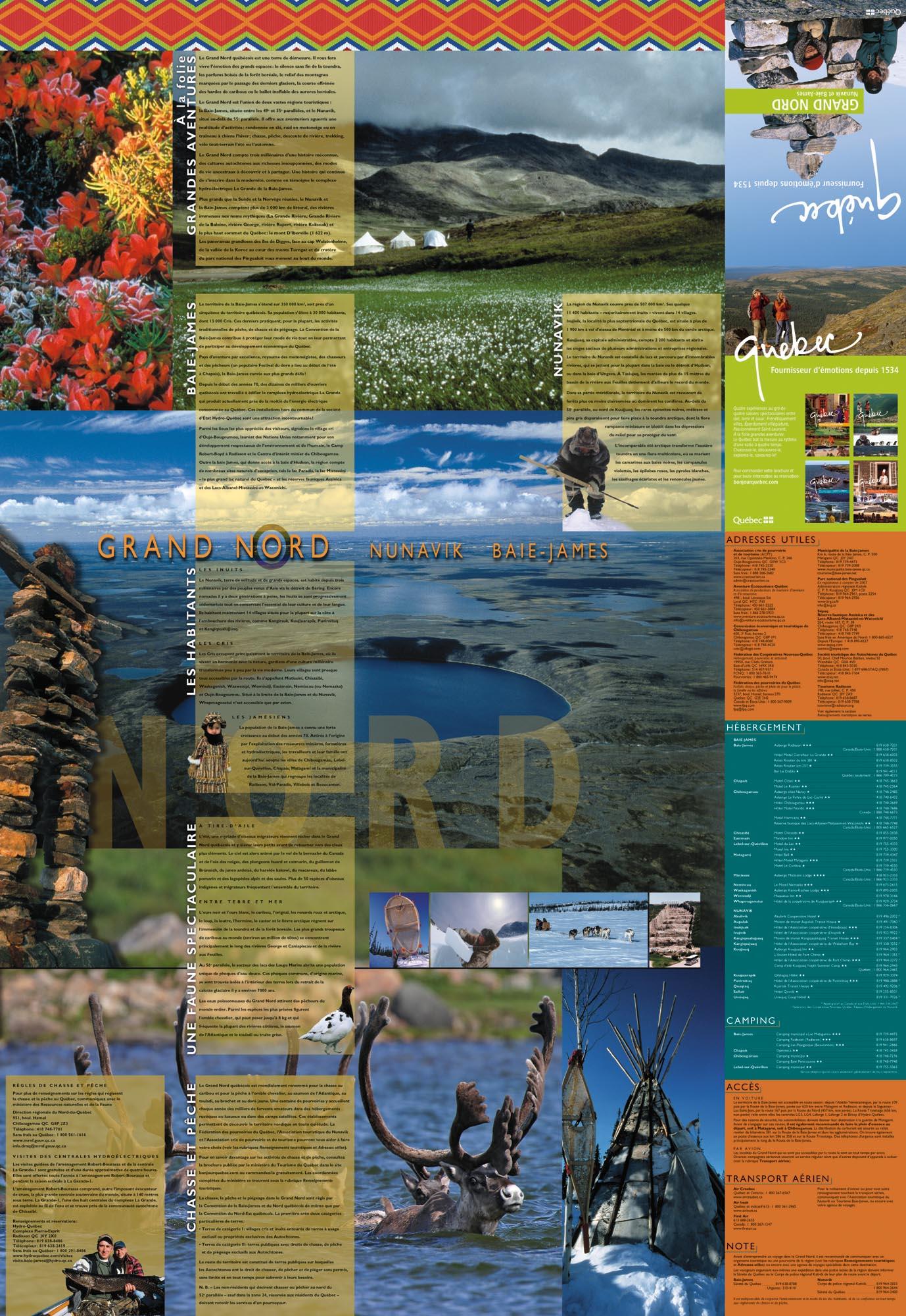 carte du G. Nord verso 2003